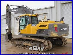 2012 Volvo EC220DL Hydraulic Excavator AC Cab Heat Aux bidadoo