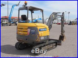 2012 Volvo EC35C Mini Excavator Rubber Tracks Backhoe Dozer Diesel Aux bidadoo