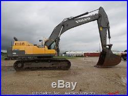 2012 Volvo EC480DL Hydraulic Excavator A/C Cab Rear Camera Diesel bidadoo
