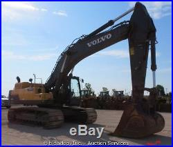2012 Volvo EC480DL Hydraulic Excavator Auxiliary Hydraulics A/C Cab Diesel