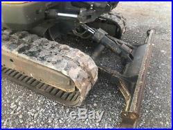 2012 Volvo EC55 Mini Excavator Track Hoe 2,500 Hours