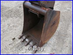 2012 Volvo ECR88 Mini Excavator Rubber Tracks Backhoe Aux Hyd 90 Blade bidadoo