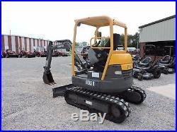 2012 Volvo Ecr28 Excavator Bobcat Caterpillar Deere Low Hours