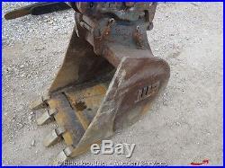 2012 Wacker 3503 Hydraulic Mini Excavator Hydraulic Thumb Yanmar Diesel bidadoo