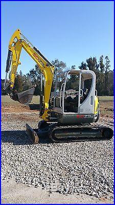 2012 Wacker Neuson 50Z3 Hydraulic Mini Excavator