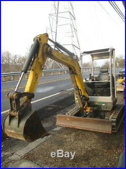 2012 Wacker Neuson Diesel Excavator with Low Hours