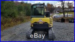 2012 Yanmar Vio55 Excavator Cab Heat Ac Hydraulic Thumb Ready To Work! Finance
