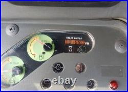 2012 Yanmar Vio 80 Mini Hydraulic Excavator Rubber Tracks Enclosed Cab