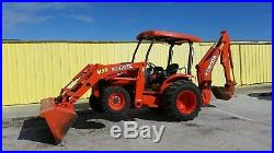 2012kubota M59 Tractor Loader Backhoe 4x4 Hst With Grapple
