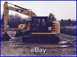 2013CAT 312E Hydraulic Track Excavator
