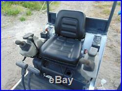2013 Bobcat 324 Backyard Mini Excavator Kubota Diesel Retractable Tracks