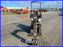 2013 Bobcat 418A Mini Excavator Rubber Tracks Dozer Backhoe Aux Hyd bidadoo