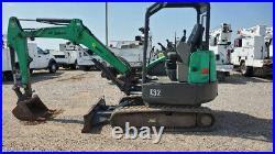 2013 Bobcat E32 Mini Ex Excavator Trackhoe Diesel Rubber Tracks