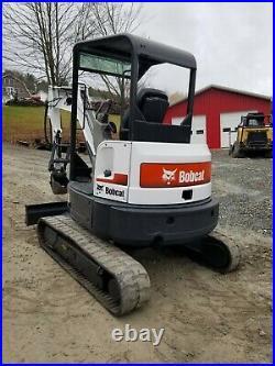 2013 Bobcat E35 Excavator Hydraulic Thumb Kubota Diesel Ready To Work We Finance