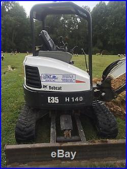 2013 Bobcat E35 Mini Excavator