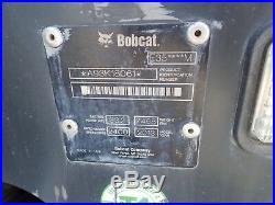 2013 Bobcat E35 Mini Excavator, Cab, Heat/ac, 2 Spd, Aux Hydraulics, 24hp Diesel