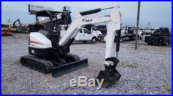 2013 Bobcat E35 Track Hoe Trackhoe Mini Excavator