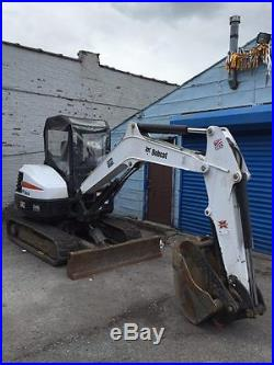 2013 Bobcat E42 Excavator, barely used. Very good condition
