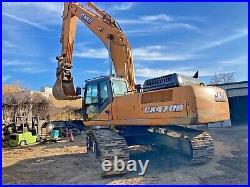 2013 Case CX470B Excavator Q/C OPERATIONAL/INSPECTION VIDEO Walk-around