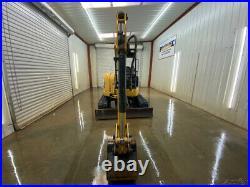 2013 Cat 304e Cr Mini Track Excavator With Straight Blade