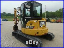 2013 Caterpillar 305.5E CR Mini EXCAVATOR Nice shape! Thumb! Cab