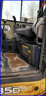 2013 John Deer 35D Mini Excavator