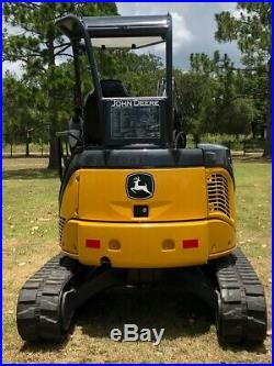 2013 John Deere 35d Mini Hydraulic Excavator 2929 Hours- Excellent Condition