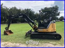 2013 John Deere 50D excavator with 1900 HRS