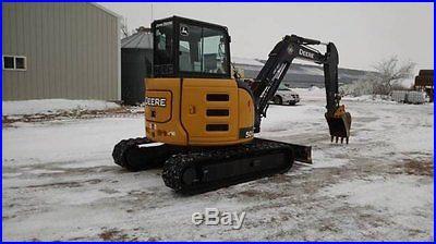 2013 John Deere 50G Excavator