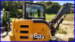 2013 John Deere 60G Excavator & Impactor