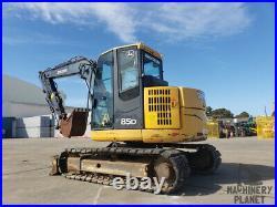 2013 John Deere 85D Track Excavator