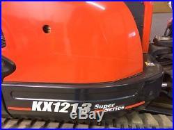 2013 KX121-3ST KUBOTA EXCAVATOR, One owner slightly used