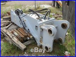 2013 Kent F35QT Large Heavy Hydraulic Excavator Breaker Hammer Demolition