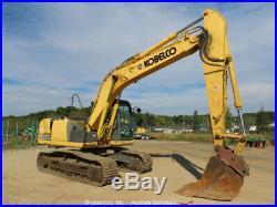 2013 Kobelco SK170-9 Hydraulic Excavator A/C Cab 42 Bucket Aux Hyd bidadoo