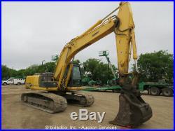 2013 Kobelco SK210-9 Acera Mark 9 Hydraulic Excavator Heat Cab A/C Aux bidadoo
