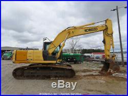 2013 Kobelco SK210-9 Hydraulic Excavator A/C Cab Aux Hyd Trackhoe bidadoo