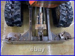 2013 Kubota K008-3 Mini Track Excavator, With Telescopic Tracks! Standard
