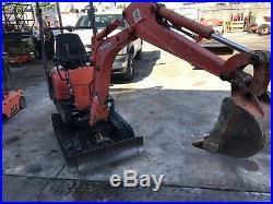 2013 Kubota K008 Mini Excavator Excavator