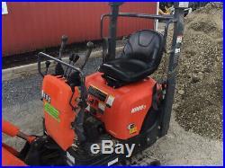 2013 Kubota KX008-3 Hydraulic Mini Excavator Super Clean Only 1100Hrs