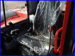 2013 Kubota KX080 Excavator Cab Heat AC Angle Dozer Blade ONLY 352 HOURS