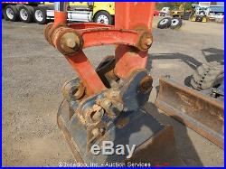 2013 Kubota KX91-3S2 Mini Excavator Rubber Tracks Backhoe Aux Hyd 2 Buckets