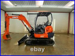 2013 Kubota Kx040-4 Orops Mini Compact Excavator