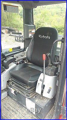 2013 Kubota Kx057-4 Excavator Loaded Nice Ready 2 Work In Pa We Ship Nationwide