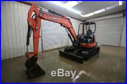 2013 Kubota Kx057-4 Track Excavator