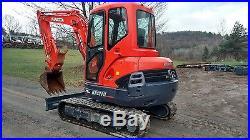 2013 Kubota Kx121-3 Excavator Loaded Mint Low Hrs Ready 2 Work In Pa We Ship