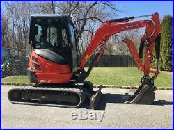2013 Kubota U25-2A Rubber Track Mini Excavator Hydraulic Thumb Cab Crawler