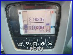 2013 Kubota U55-4 Mini Excavator, Cab, Aux Hyd, Hyd Thumb, Heat Ac, Radio, 2 Spd