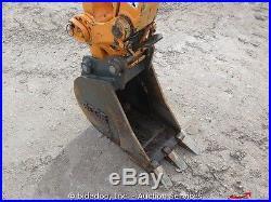 2013 Mustang 350Z Mini Excavator Tack Hoe Dozer Blade Yanmar Aux Hyd bidadoo