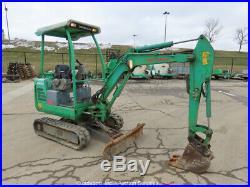 2013 Takeuchi TB016 Mini Excavator Extendable Tracks Aux Hyd bidadoo -Repair