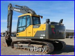 2013 Volvo EC140DL Hydraulic Excavator Aux Hyd A/C Cab Diesel bidadoo